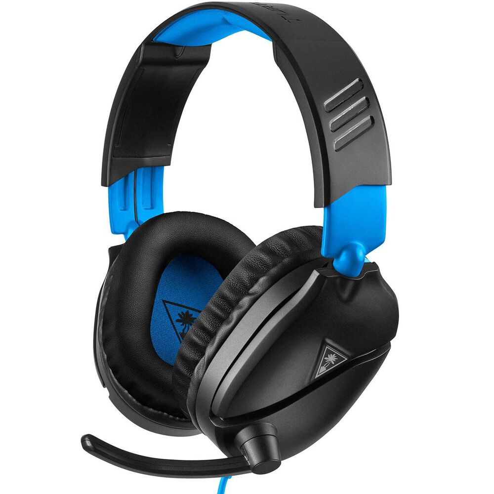 Turtle Beach Recon 70 Wired Headset for PlayStation 4 in Black and Blue, , large