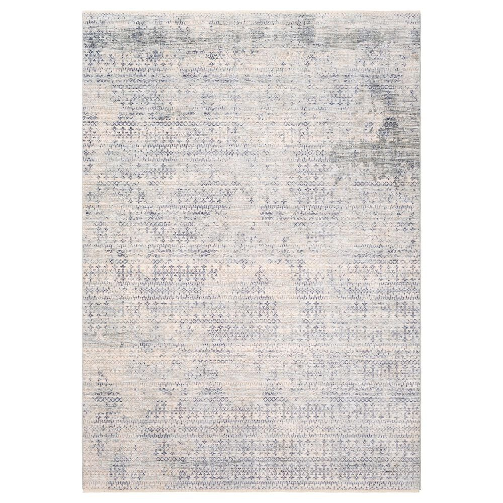 """Surya Presidential PDT-2316 3""""3"""" x 5"""" Blue, Gray and Ivory Area Rug, , large"""