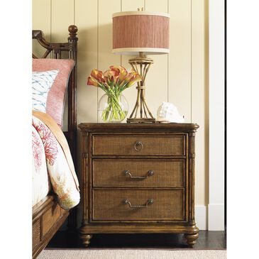 Tommy Bahama Home Bali Hai Sojourn Nightstand in Warm Brown, , large