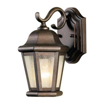 "Murray Feiss Martinsville 2 Light 15"" Outdoor Wall Lantern in Corinthian Bronze, , large"