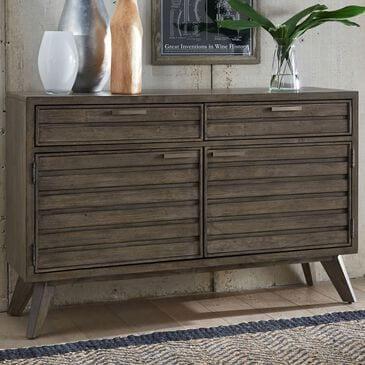 Legacy Classic Greystone Credenza in Ash Brown, , large