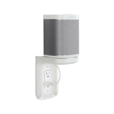 SONOS One (Gen 2) and Outlet Shelf in White, , large