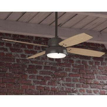 "Hunter Wingate with Light 52"" Ceiling Fan in Noble Bronze, , large"