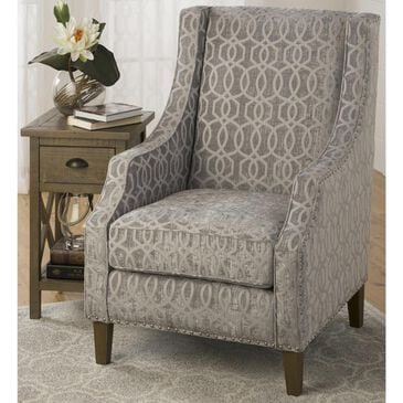 Waltham Quinn Accent Chair in Dove Gray, , large