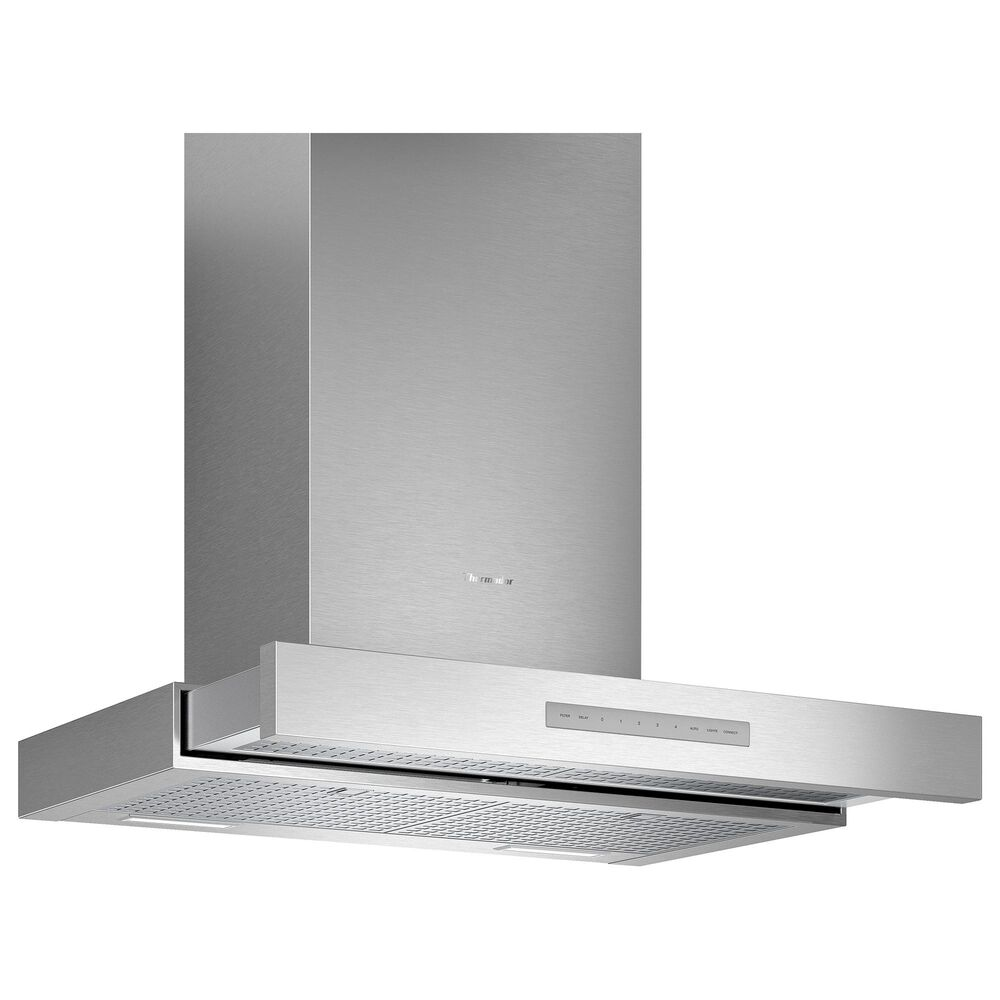 """Thermador 30"""" Masterpiece Drawer Chimney Wall Hood with 600 CFM in Stainless Steel, , large"""