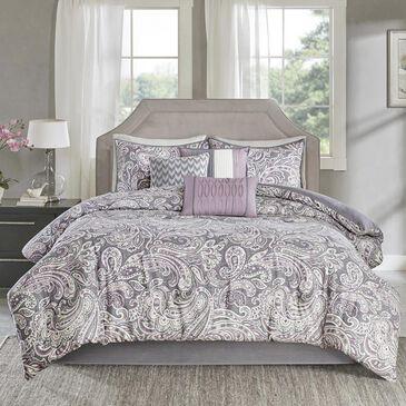 Goldstar Bedding Gabby 7-Piece King Comforter Set in Purple, , large