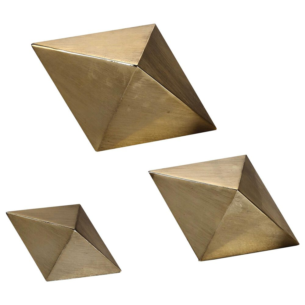 Uttermost Rhombus Accents (Set of 3), , large