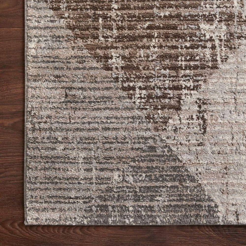 "Loloi II Austen AUS-04 6'7"" x 9'2"" Stone and Bark Area Rug, , large"