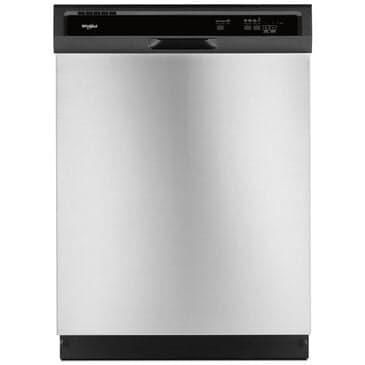 Whirlpool Heavy-Duty Dishwasher with 1-Hour Wash Cycle in Stainless Steel , , large