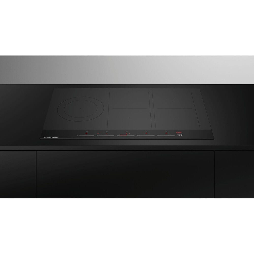 """Fisher and Paykel 36"""" Minimal Induction Cooktop with SmartZone in Black, , large"""