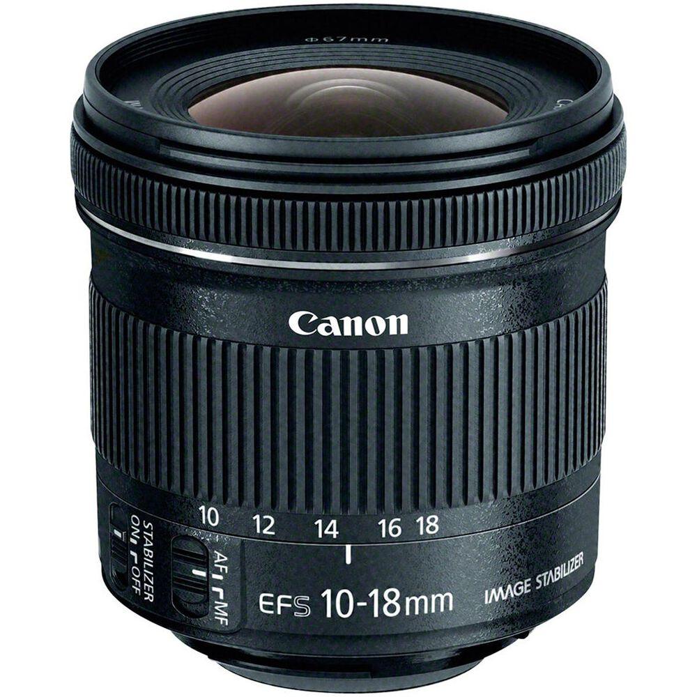 Canon EF-S 10-18mm f/4.5-5.6 IS STM Lens, , large
