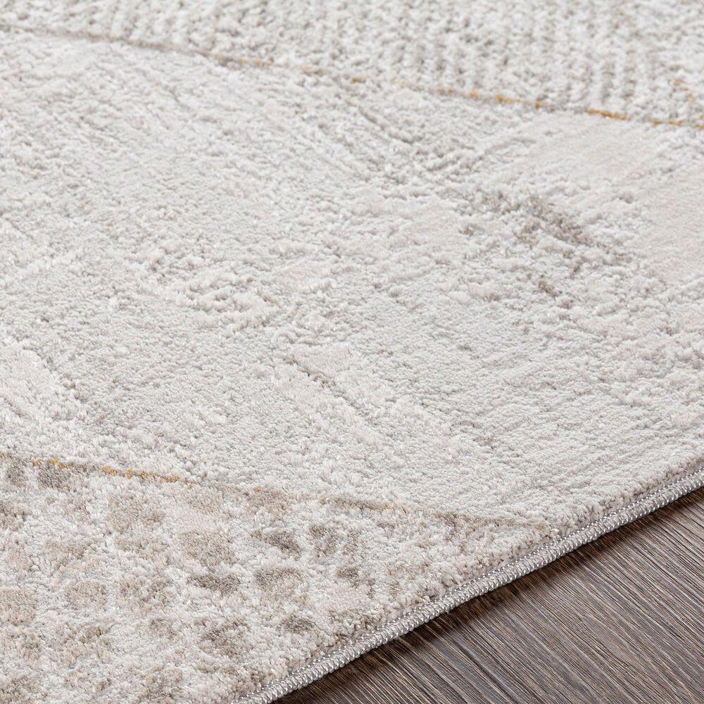 Surya Carmel 2' x 3' White, Ivory, Gray and Taupe Area Rug, , large