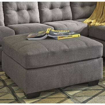 Benchcraft Maier Accent Ottoman in Charcoal, , large