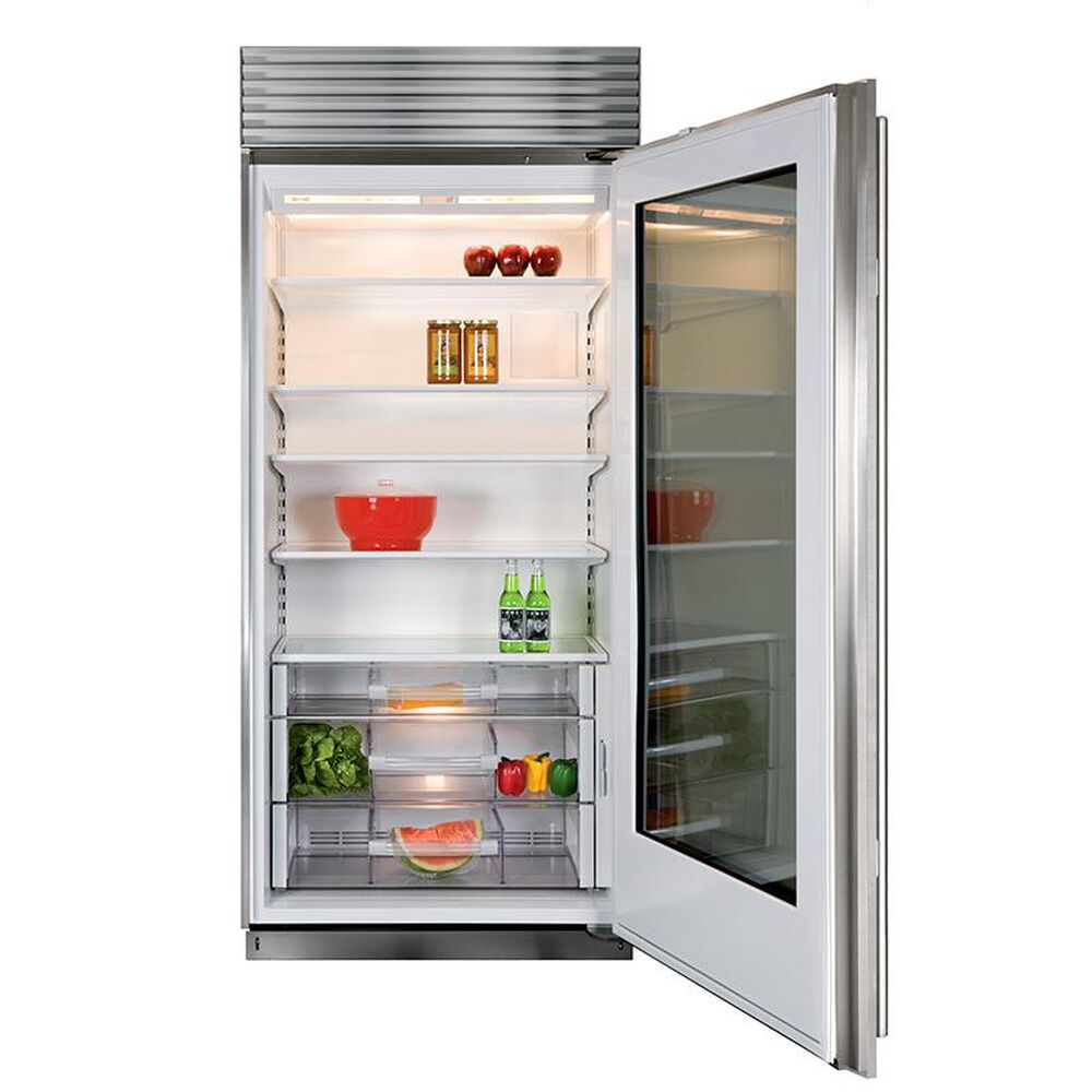 """Sub Zero 36"""" Built In Classic Stainless Steel All Refrigerator, , large"""