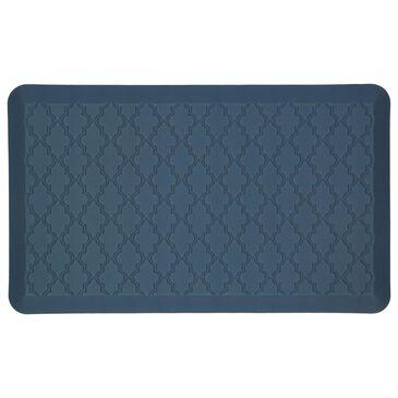 """Karastan Dri-Pro Comfort Classic Lattice 4900-17348 1'6"""" x 2'6"""" Blue Area Rug, , large"""