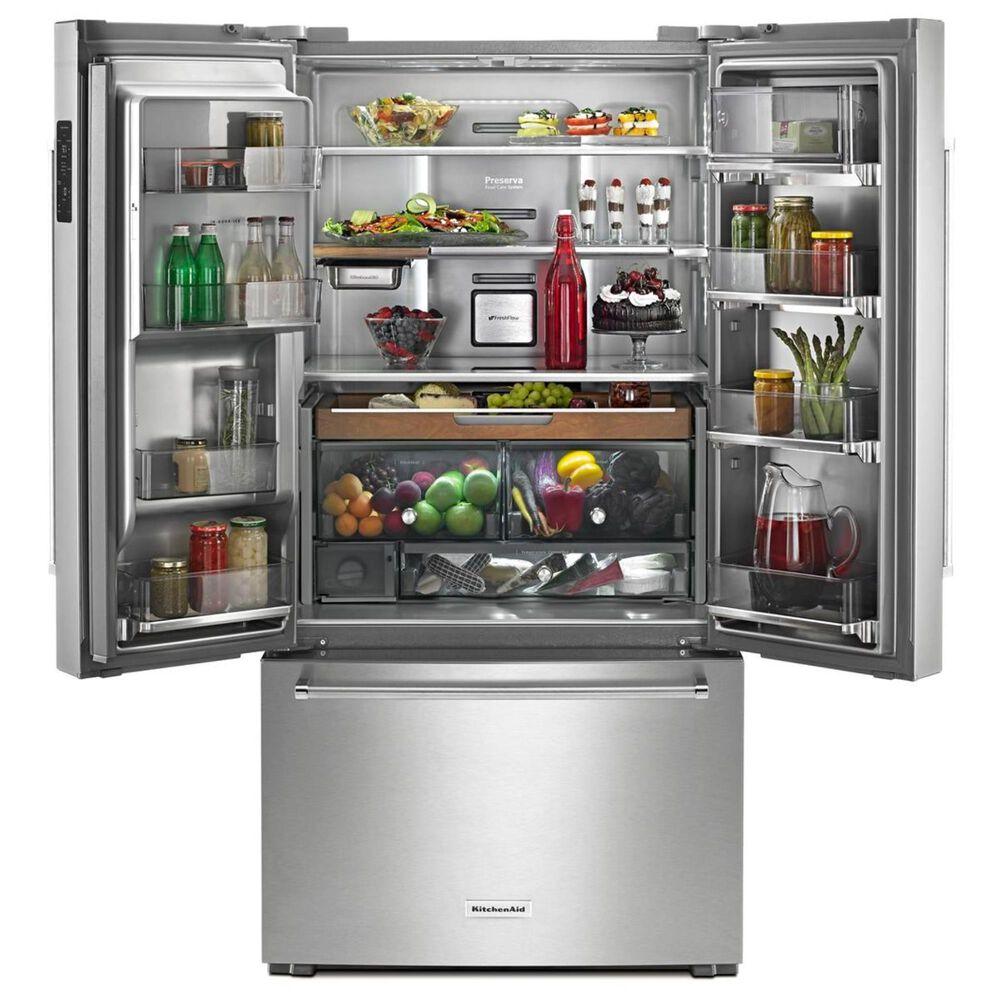 KitchenAid 24 Cu. Ft. French Door Refrigerator , , large