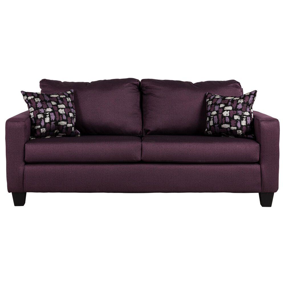 Carolina Furniture Chevee Sofa in Ace Violet , , large