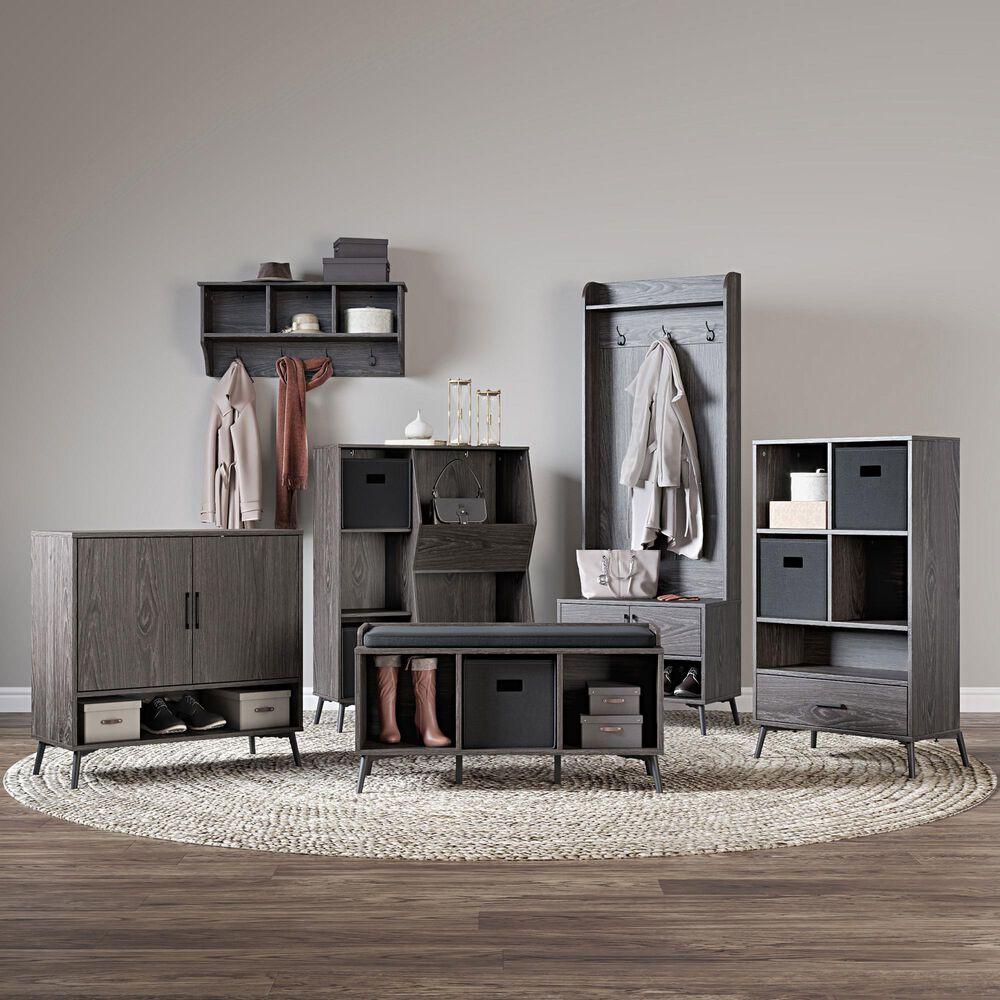 RiverRidge Home Woodbury Storage Cabinet in Dark Weathered Woodgrain, , large