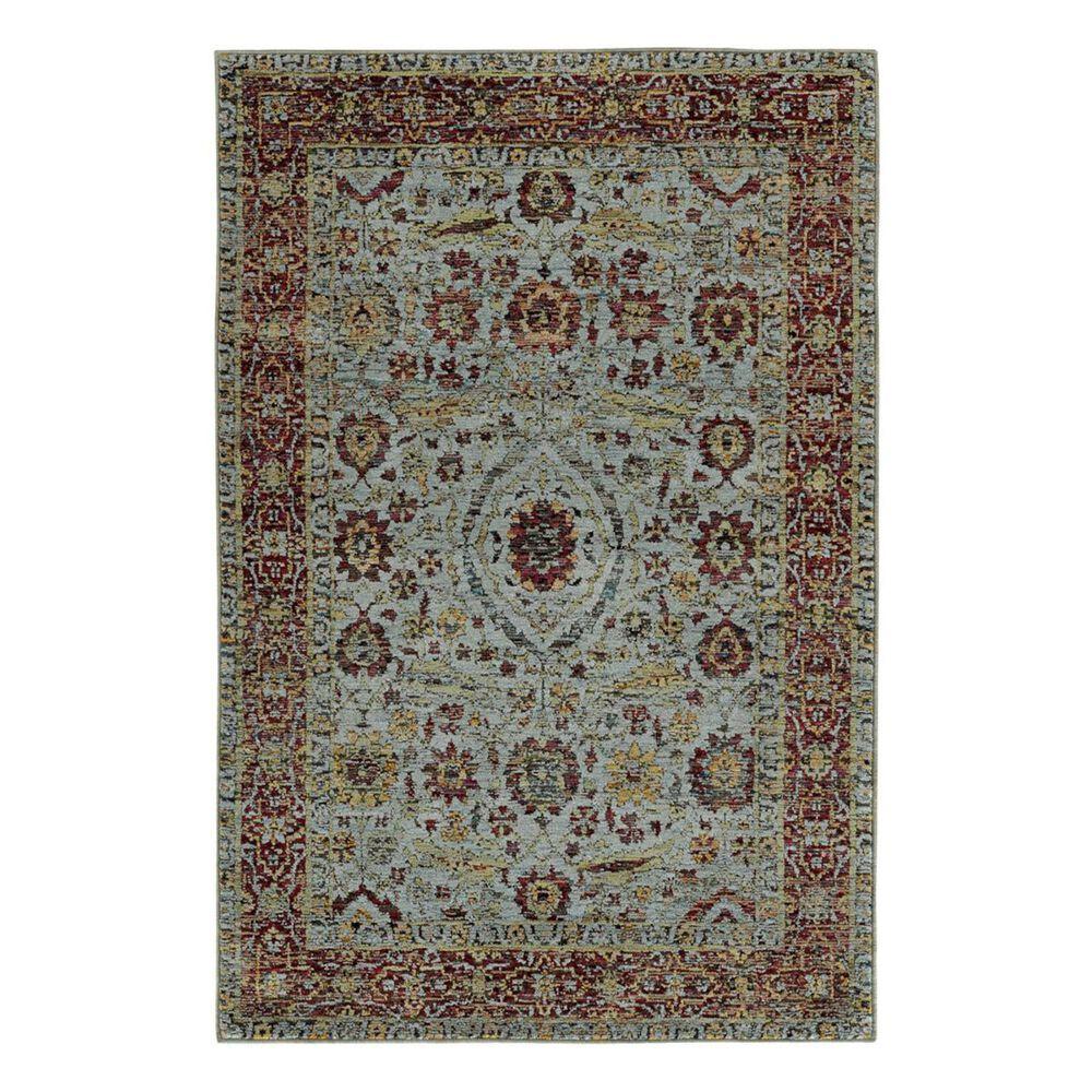 "Oriental Weavers Andorra 7155A 3'3"" x 5'2"" Blue Area Rug, , large"