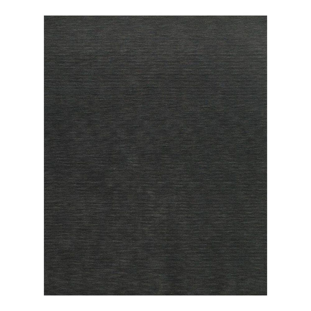 "Feizy Rugs Luna 8049F 9'6"" x 13'6"" Charcoal Area Rug, , large"