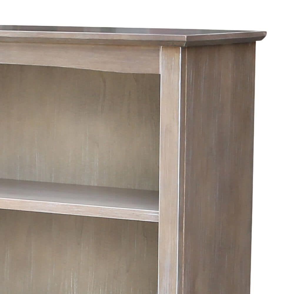 """International Concepts Shaker 48"""" Bookcase in Washed Gray Taupe, , large"""