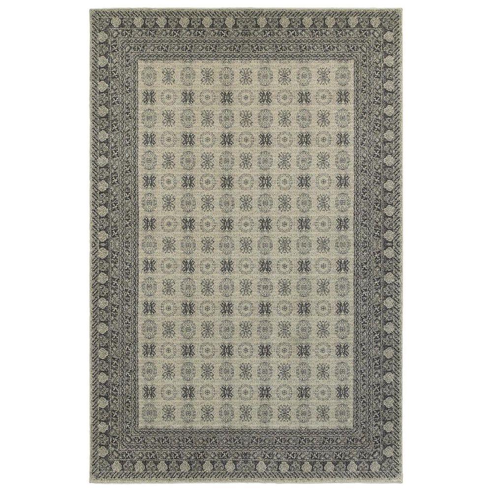 "Oriental Weavers Richmond 4440S 9""10"" x 12""10"" Ivory Area Rug, , large"