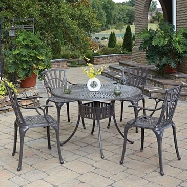 Home Styles Grenada 5-Piece Dining Set Without Cushions in Taupe, , large