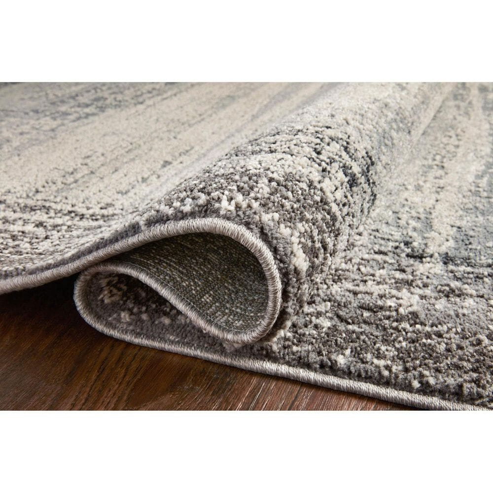 """Loloi II Austen AUS-02 6'7"""" x 9'2"""" Pebble and Charcoal Area Rug, , large"""