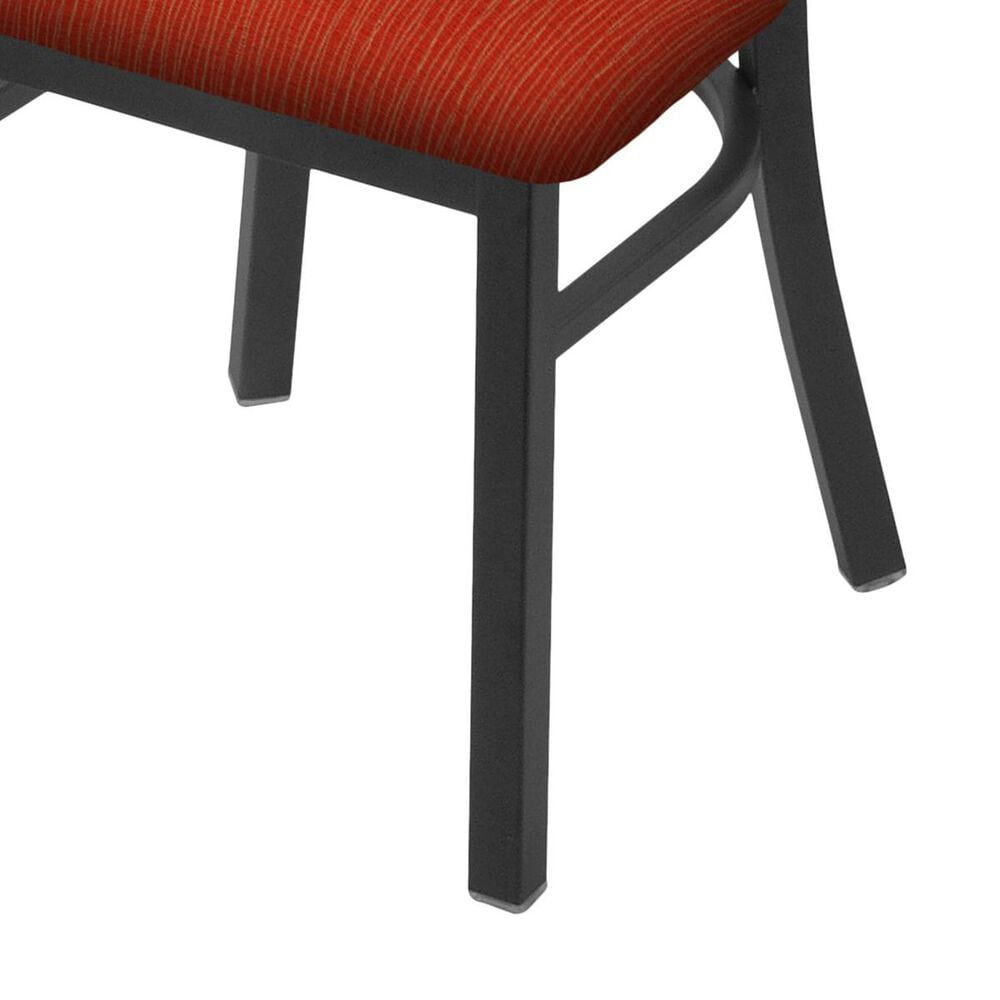 """Holland Bar Stool 620 Catalina 18"""" Chair with Pewter and Graph Poppy Seat, , large"""