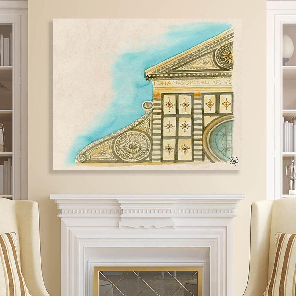 "Kathy Ireland Home ""Santa Maria Novella"" 20"" x 24"" Canvas Wall Art Print, , large"