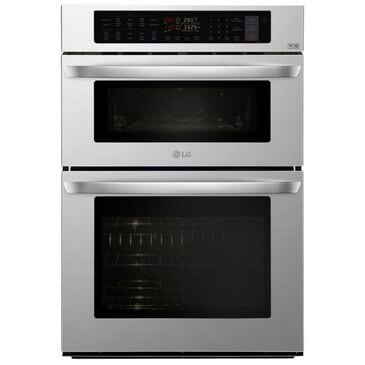 """LG 30"""" Combination Wall Oven in Stainless Steel, , large"""
