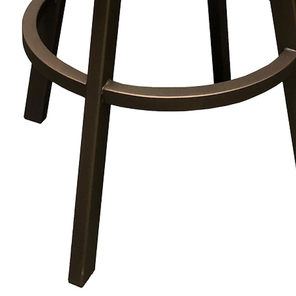"""Delaware Dining Malibu 30"""" Swivel Barstool in Sun Bronze/Dark Brown, , large"""