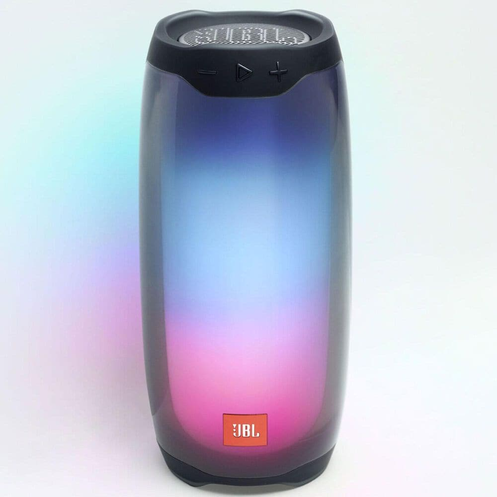 JBL Pulse 4 Waterproof Portable Bluetooth Speaker in Black, , large