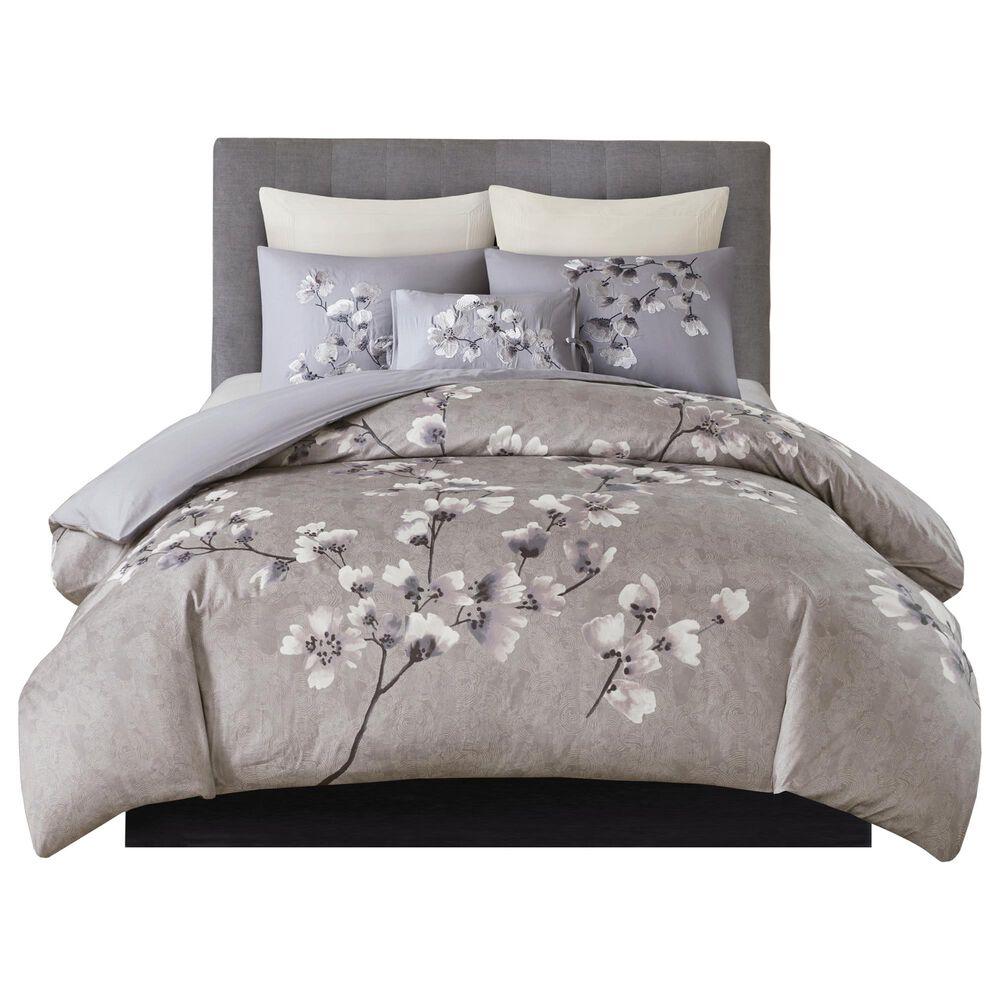 Hampton Park Sakura Blossom 3-Piece Full/Queen Comforter Set in Lilac, , large
