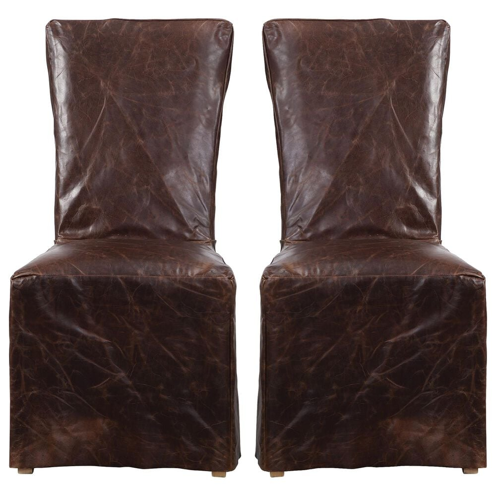 Uttermost Oaklyn Armless Chair (Set of 2), , large