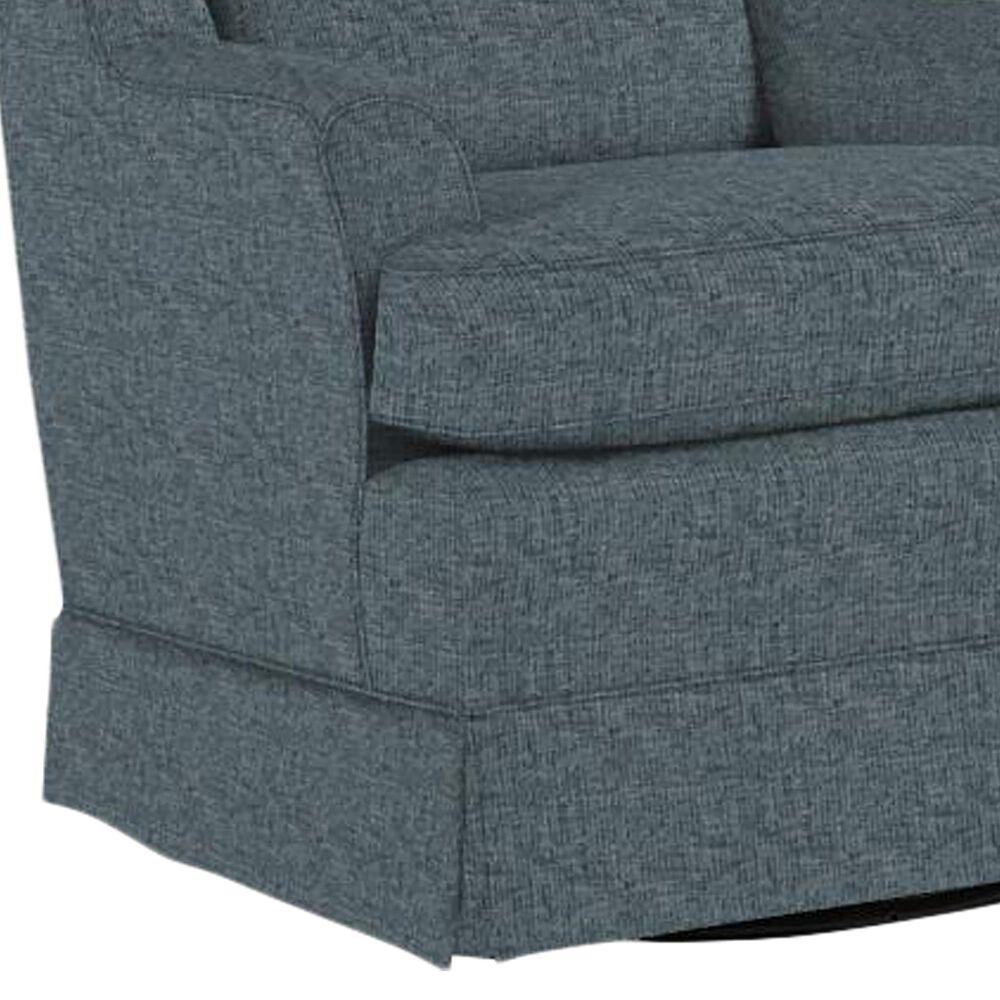 Best Home Furnishings Natasha Swivel Glider Chair in Denim, , large