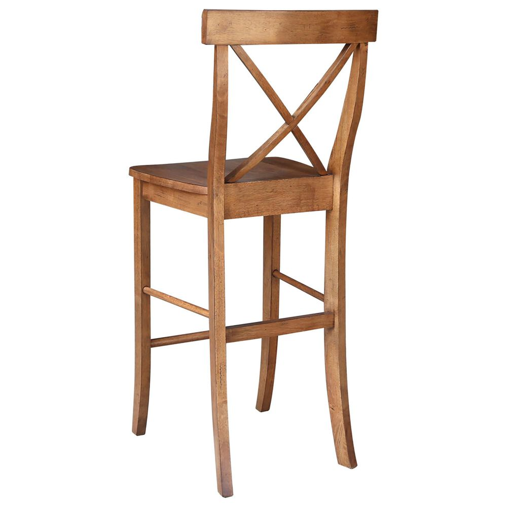 """International Concepts 30"""" Barstool in Distressed Oak, , large"""