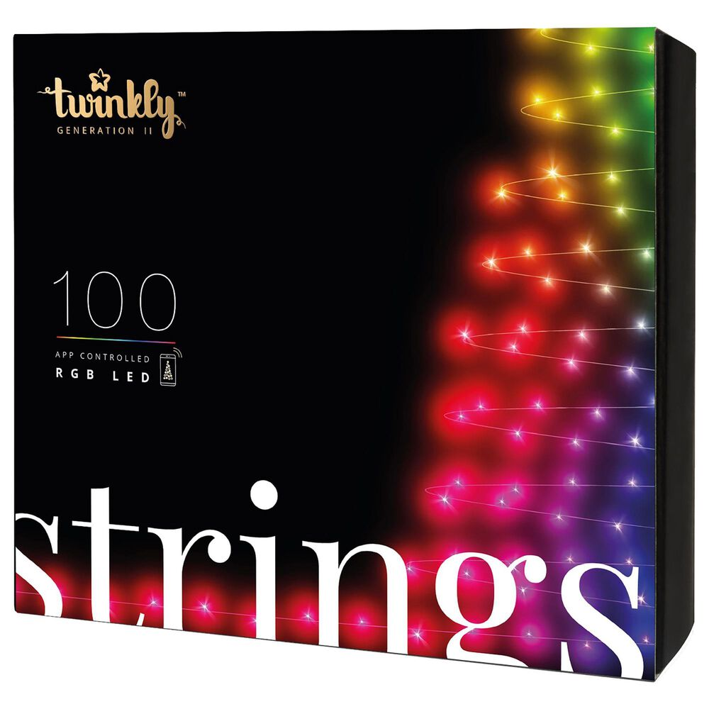 Twinkly 100 LEDs Light String in Multicolor, , large