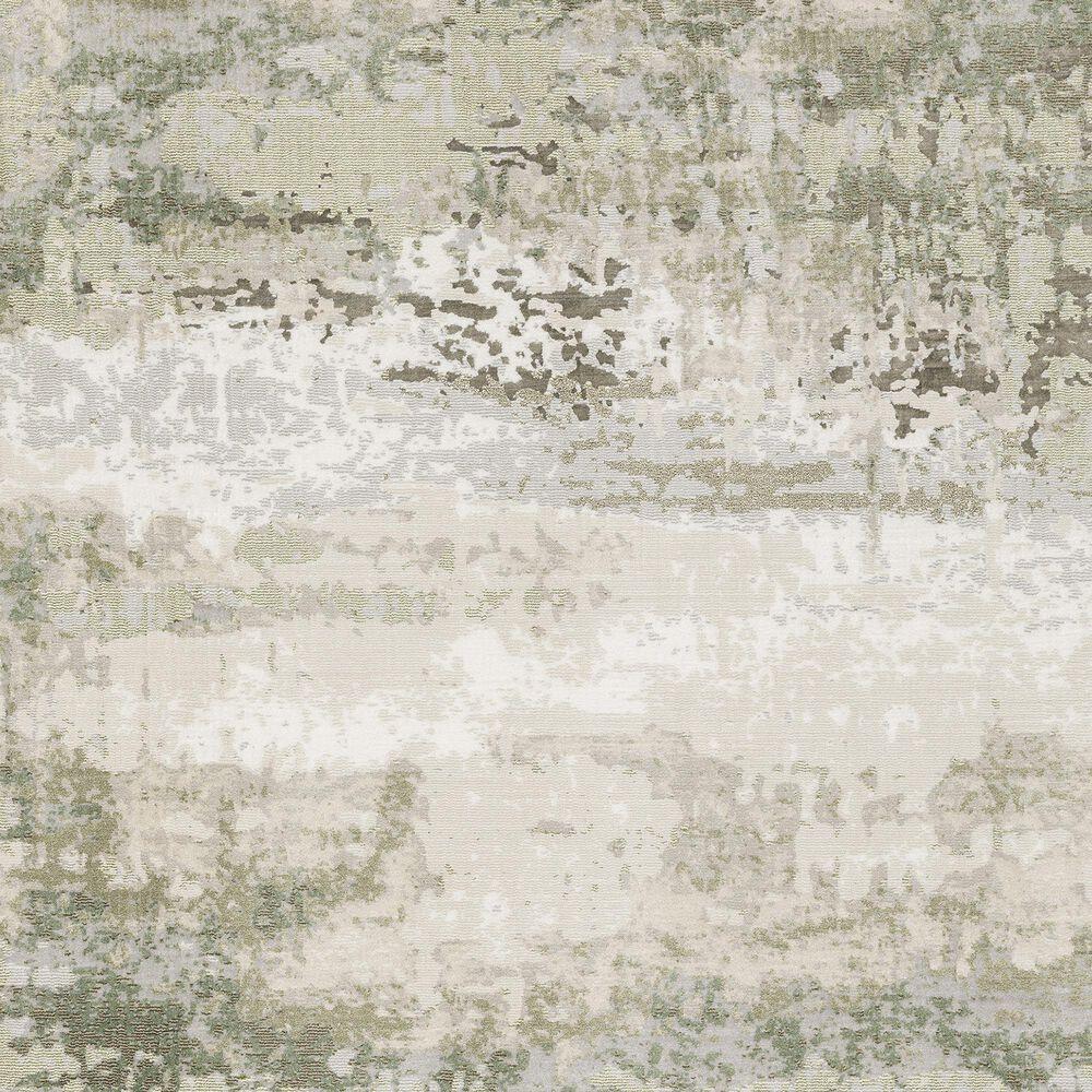 "Oriental Weavers Caravan Fading Mink 6'7"" x 9'6"" Beige and Green Area Rug, , large"