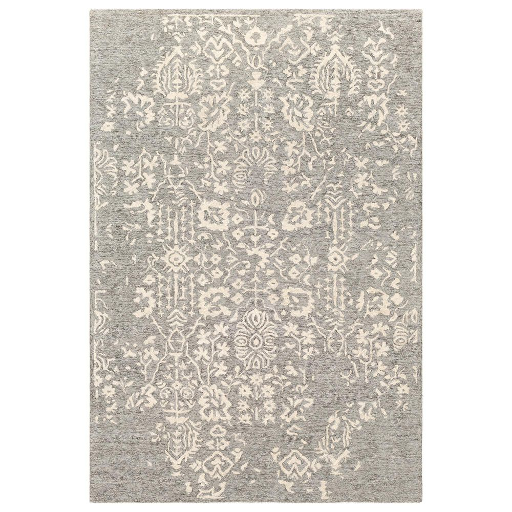 Surya Granada GND-2312 9' x 12' Medium Gray, Beige and Charcoal Area Rug, , large