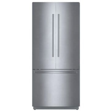 """Bosch 36"""" Built-in French Door Refrigerator in Stainless Steel, , large"""