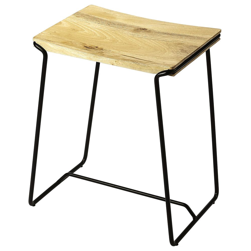 Butler Parrish Counter Stool in Black, , large