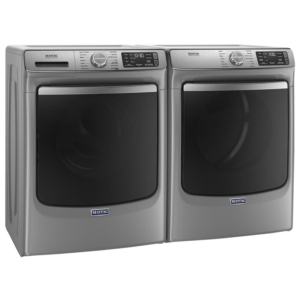 Maytag 7.3 Cu. Ft. Electric Dryer with 14 Dry Cycles in Metallic Slate, , large