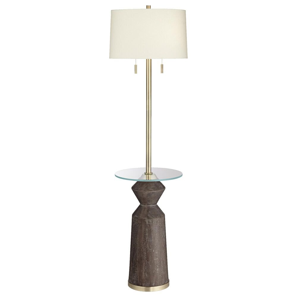 Pacific Coast Lighting Taboo Floor Lamp in Brown and Gold, , large