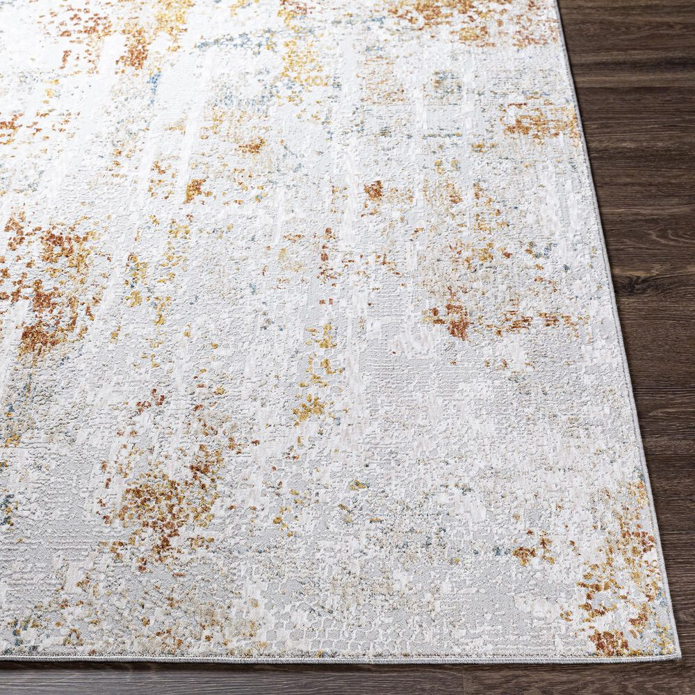 Surya Carmel 10' x 14' Camel, Clay, Mustard and Aqua Area Rug, , large