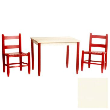 Asheville 3 Piece Child's Table Set in Antique White, , large