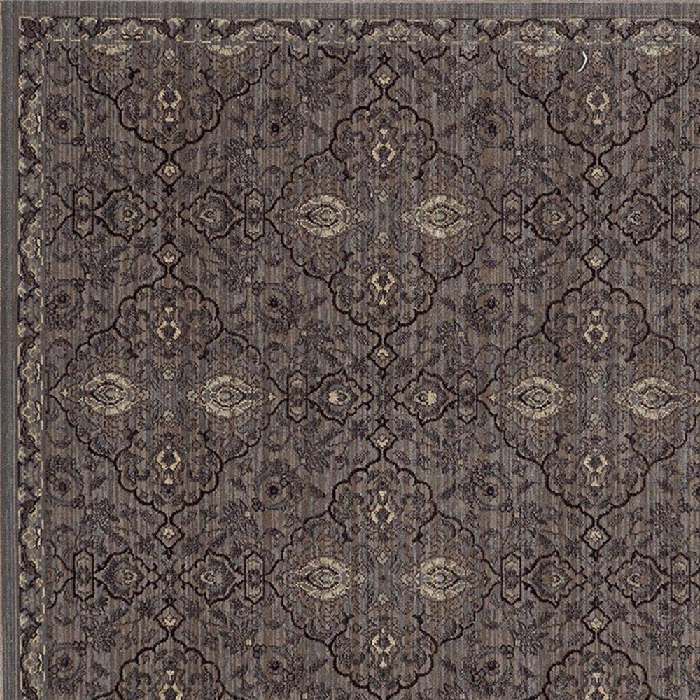 """Oriental Weavers Voyage 5509D 1'10"""" x 3'3"""" Brown Area Rug, , large"""
