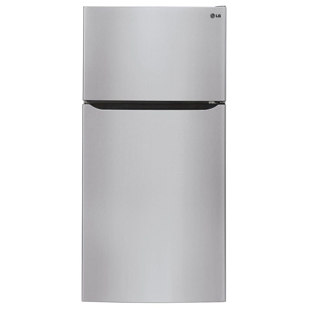 LG 24 Cu. Ft. Top Freezer Refrigerator in Stainless Steel, Stainless Steel, large