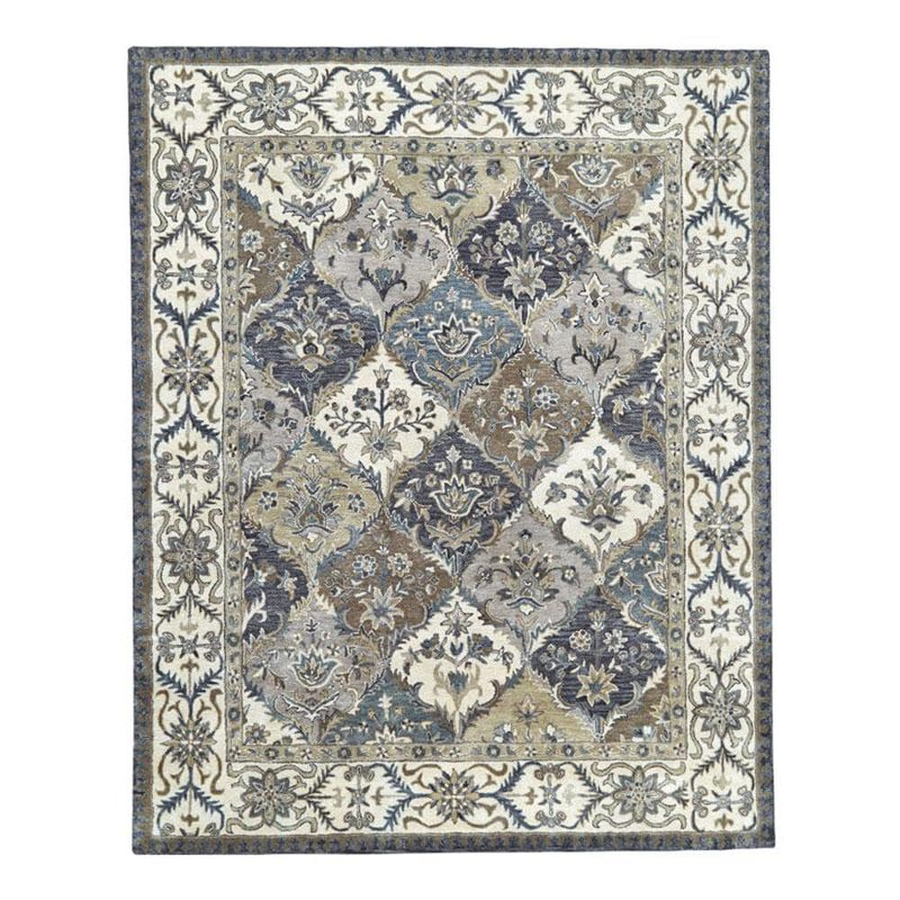 Feizy Rugs Eaton 8429F 2' x 3' Multi Scatter Rug, , large