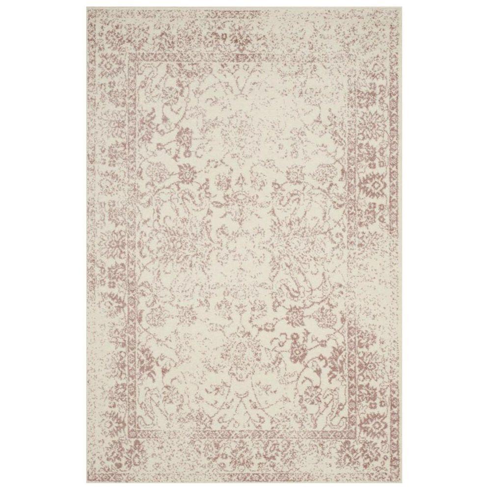 Safavieh Adirondack ADR109H 4' x 6' Ivory and Rose Area Rug, , large